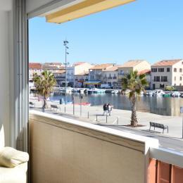 Vue de l'appartement  - Location de vacances - Mèze
