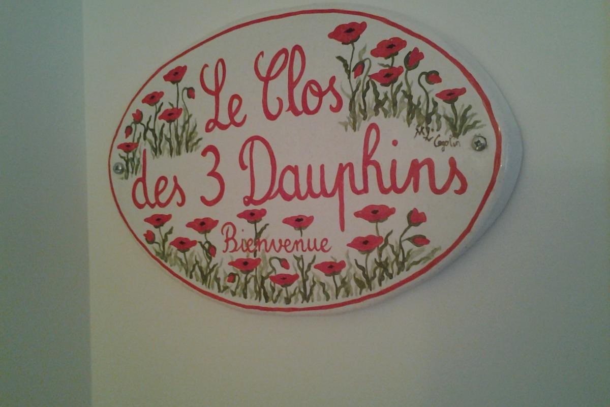 BIENVENUS CLOS DES 3 DAUPHINS   - Location de vacances - Avène