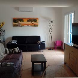 Le salon - Location de vacances - Portiragnes-Plage