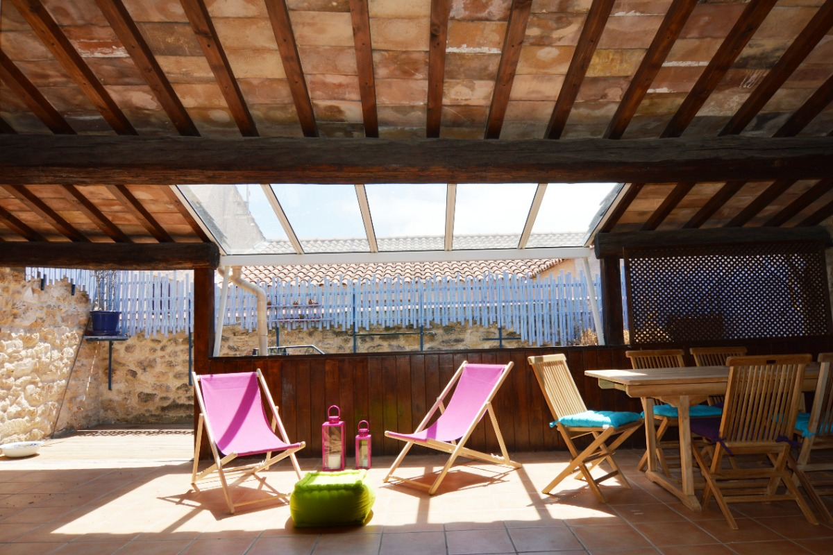 Terrasse - Location de vacances - Loupian