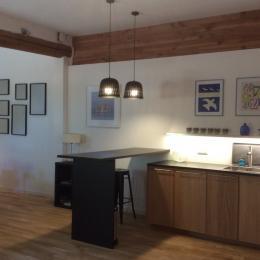 cuisine bar - Location de vacances - Mèze