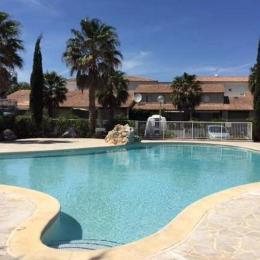 Piscine résidence - Location de vacances - Valras-Plage