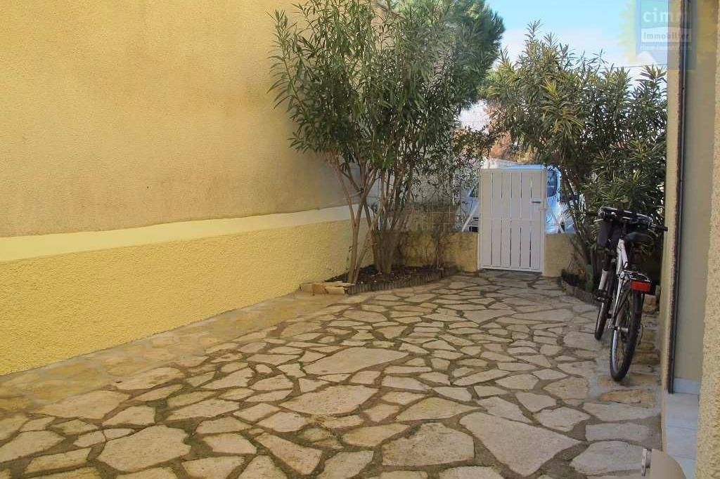 Entrée terrasse - Location de vacances - VALRAS-PLAGE