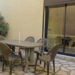 Terrasse 25m2 - Location de vacances - Valras-Plage
