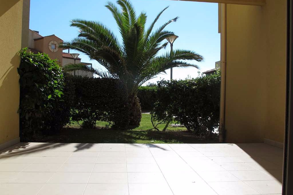 Terrasse ensoleillée  - Location de vacances - VALRAS-PLAGE