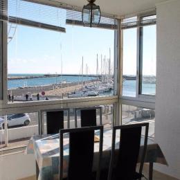 Vue port et mer - Location de vacances - Valras-Plage