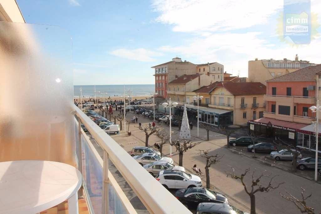 Balcon vue mer - Location de vacances - VALRAS-PLAGE