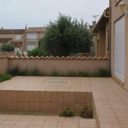 Terrasse avant - Location de vacances - VALRAS-PLAGE