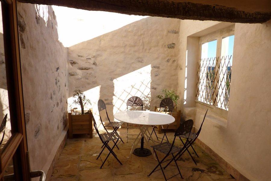 Terrasse tropézienne de 17 m2 - Location de vacances - Saint-Étienne-de-Gourgas