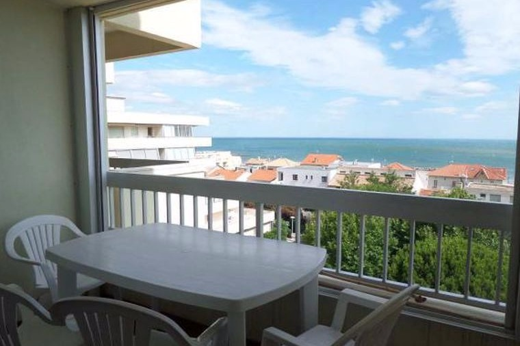 Balcon vue mer - Location de vacances - Carnon
