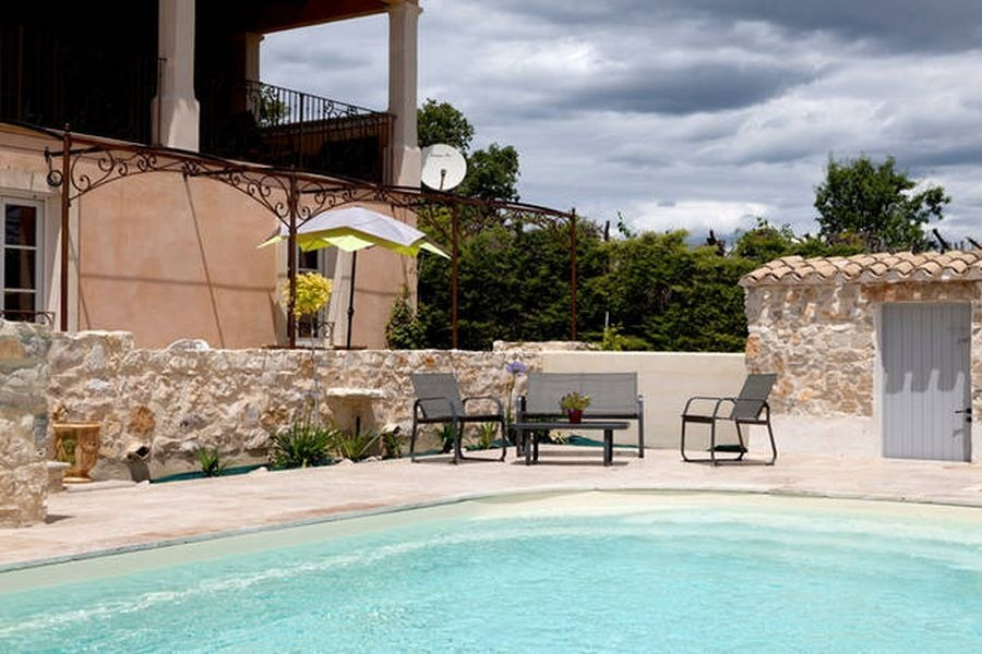 Piscine  - Location de vacances - La Boissière