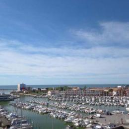 Vue port et mer - Location de vacances - CARNON PLAGE