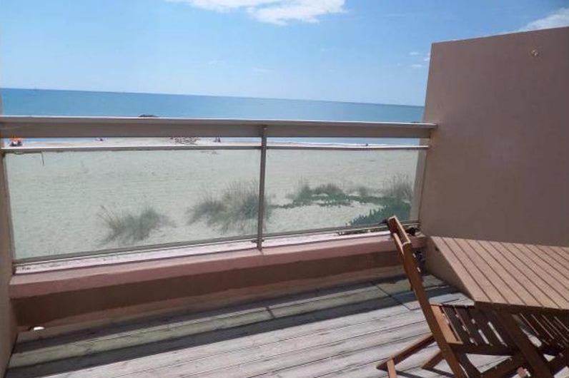 Balcon  vue mer  - Location de vacances - CARNON PLAGE