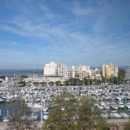 Vue port et mer - Location de vacances - Carnon