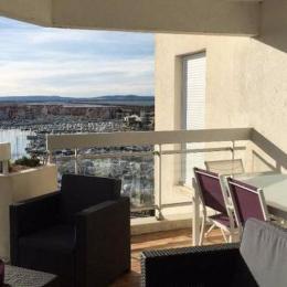 Terrasse - Location de vacances - CARNON PLAGE