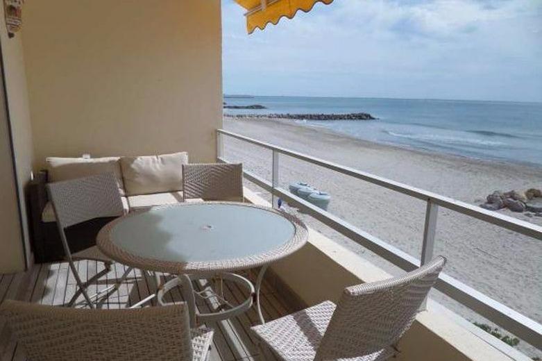 Terrasse vue mer - Location de vacances - PALAVAS-LES-FLOTS