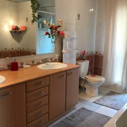 Salle bain - Location de vacances - Béziers