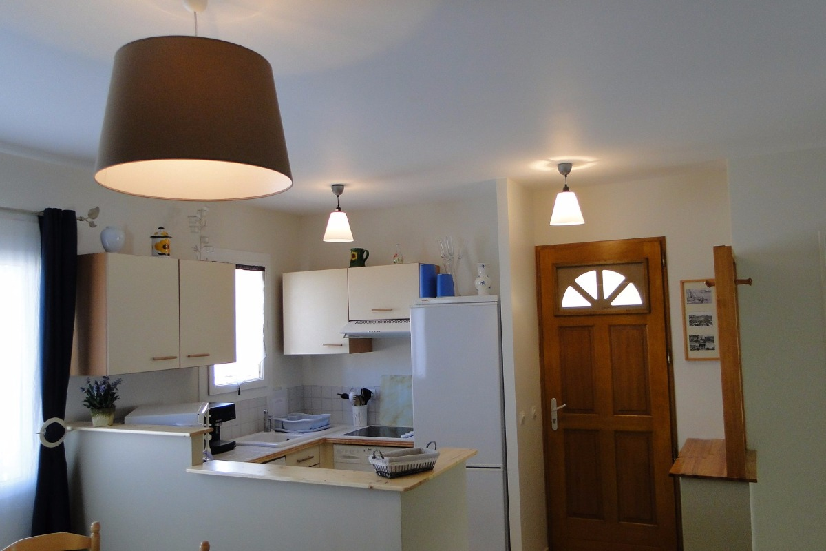 Espace cuisine ouvert - Location de vacances - le Grau D'agde