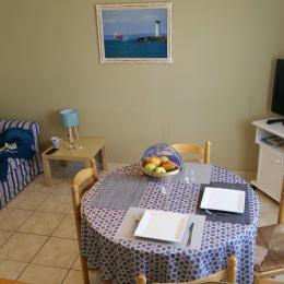 Espace séjour / salon TV - Location de vacances - le Grau D'agde