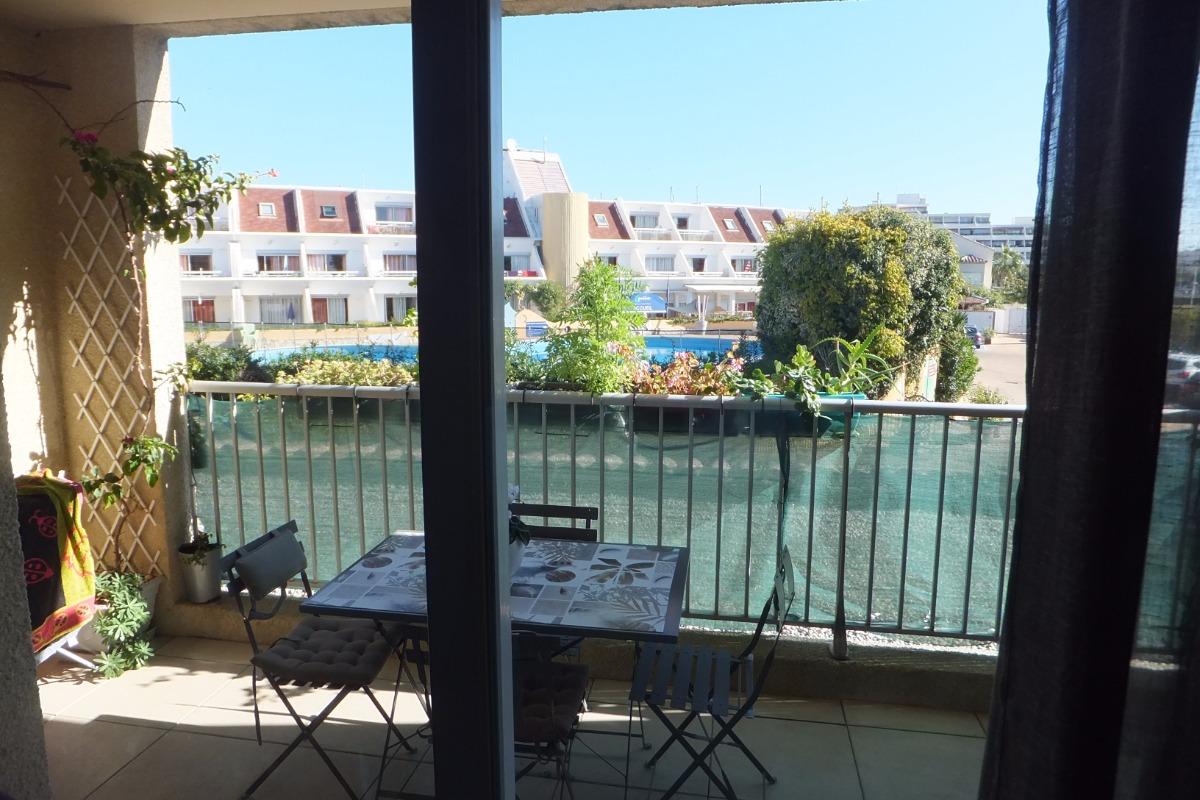 la terrasse - Location de vacances - Carnon
