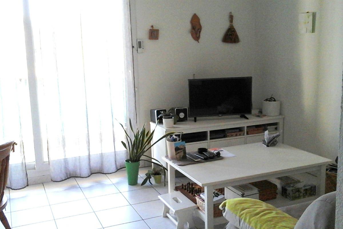 Le salon - Location de vacances - Carnon