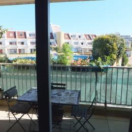 la terrasse - Location de vacances - CARNON PLAGE