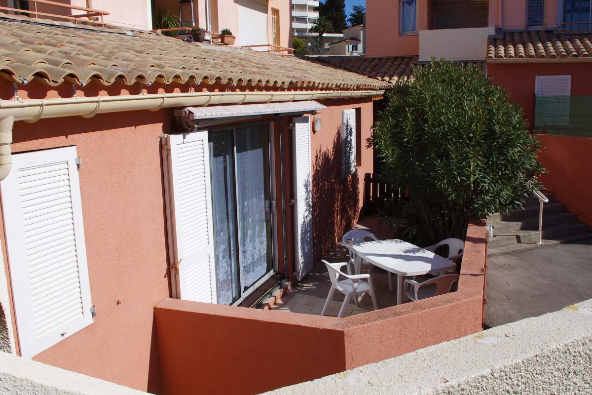 Terrasse ensoleillée orientée Sud - Location de vacances - Sète