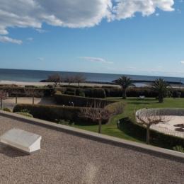 vue mer depuis loggia - Location de vacances - CAP-D'AGDE