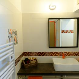 salle d'eau - Chambre d'hôtes - Le Bosc