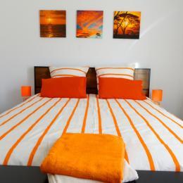 lit de 160 - Chambre d'hôtes - Le Bosc