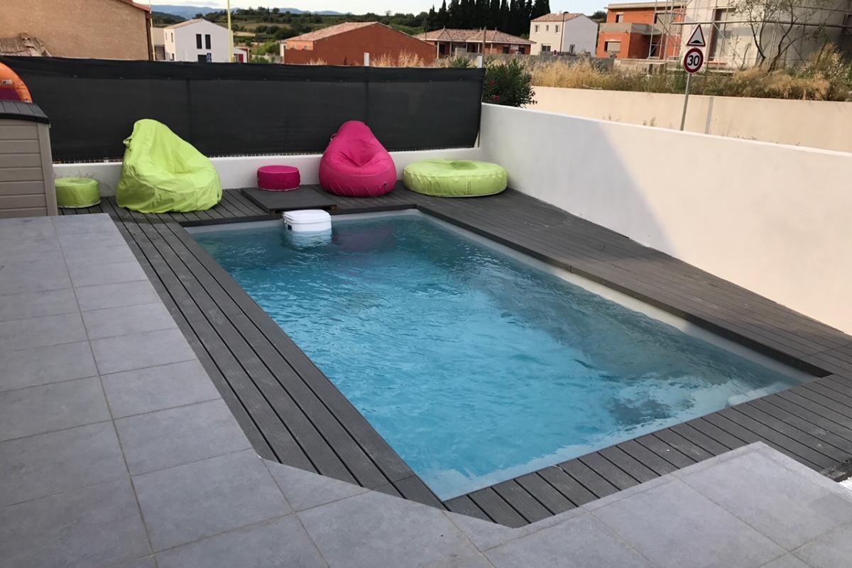 terrasse  - Location de vacances - Thézan-lès-Béziers