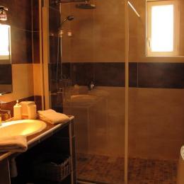 salle d'eau et toilettes privatives - Chambre d'hôtes - Lansargues