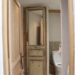 Toilettes et lave-linge en bas - Location de vacances - Béziers