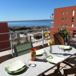Agréable terrasse - Location de vacances - Sète