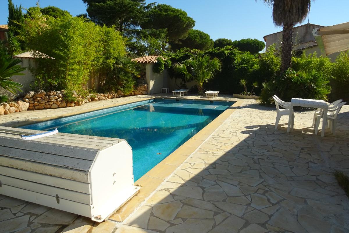 cap d 39 agde belle villa avec piscine pour 8 pers location
