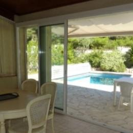 Véranda avec terrasse - Location de vacances - CAP-D'AGDE