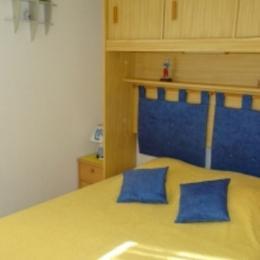 Chambre lit double - Location de vacances - CAP-D'AGDE