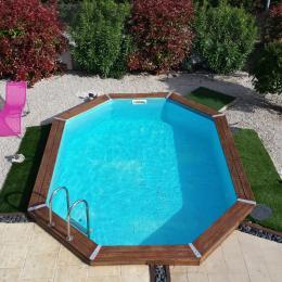 piscine côté jardin - Chambre d'hôtes - Frontignan