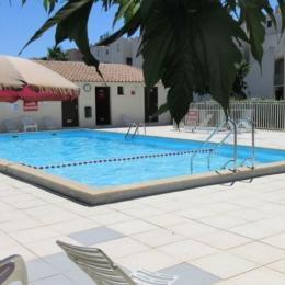 Piscine résidence - Location de vacances - CAP-D'AGDE