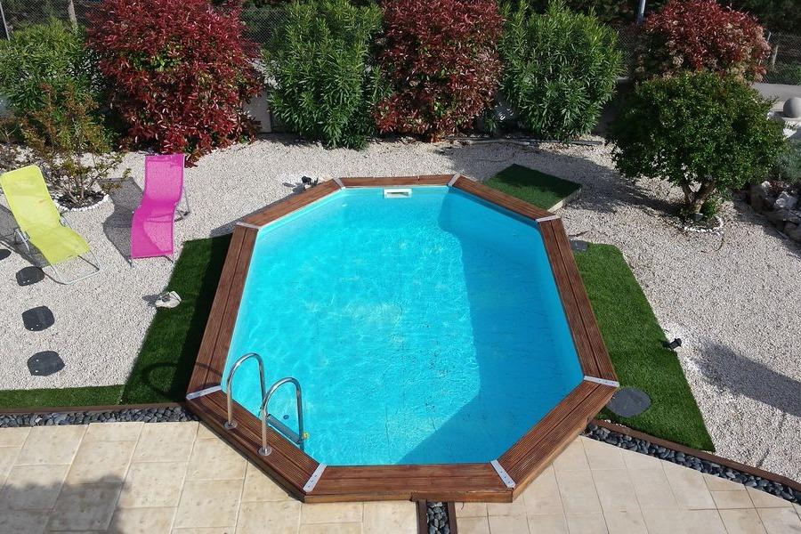 Piscine privée - Location de vacances - Frontignan