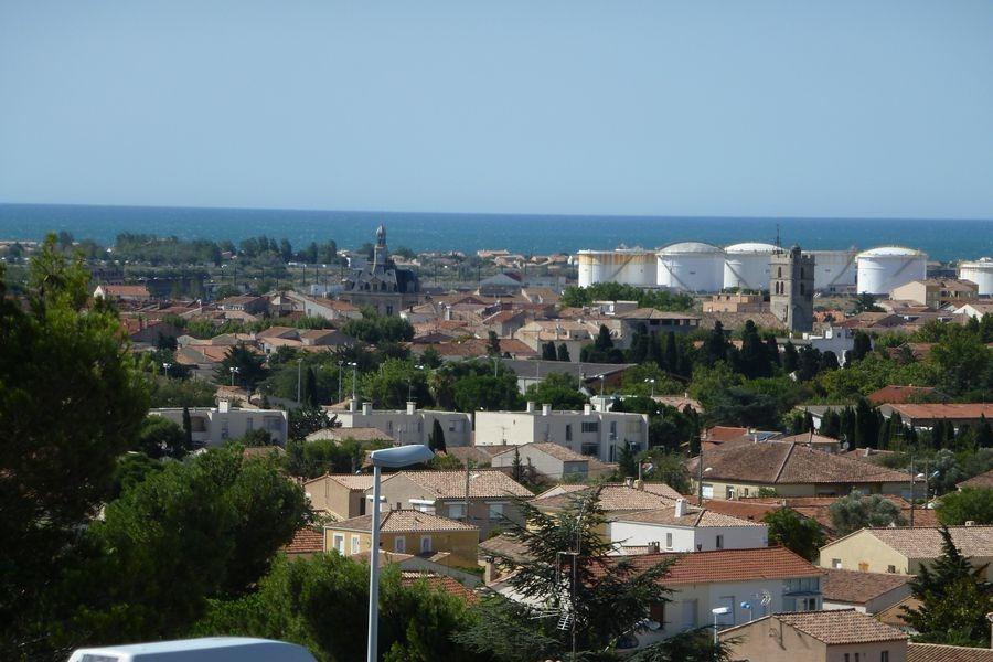 Vue dégagée sur la mer - Location de vacances - Frontignan