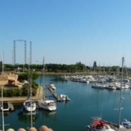 Vue sur le port - Location de vacances - CAP-D'AGDE
