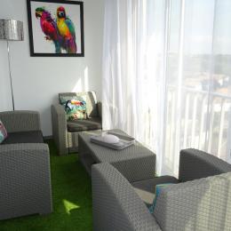 Loggia vitrée - Location de vacances - CAP-D'AGDE