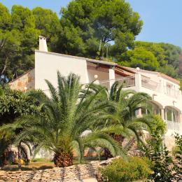 Notre villa dans laquelle se trouve la chambre aux écureuils - Chambre d'hôtes - Sète