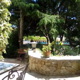 La terrasse privée - Chambre d'hôtes - Sète