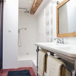 Salle de douche - Chambre d'hôtes - PORTIRAGNES
