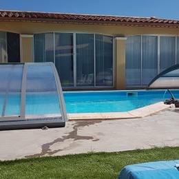 la piscine côté détente - Location de vacances - Saint-Jean-de-Védas