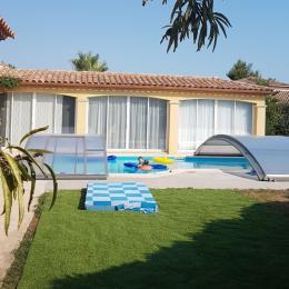 la piscine vue d'ensemble - Location de vacances - Saint-Jean-de-Védas