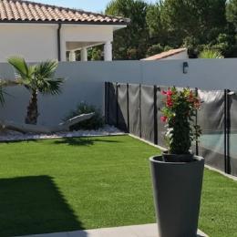 jardin - Location de vacances - Pinet