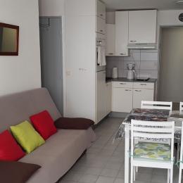 salon/séjour - Location de vacances - Sète